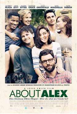 Cartel de About Alex