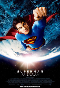 Cartel de Superman Returns (El regreso)