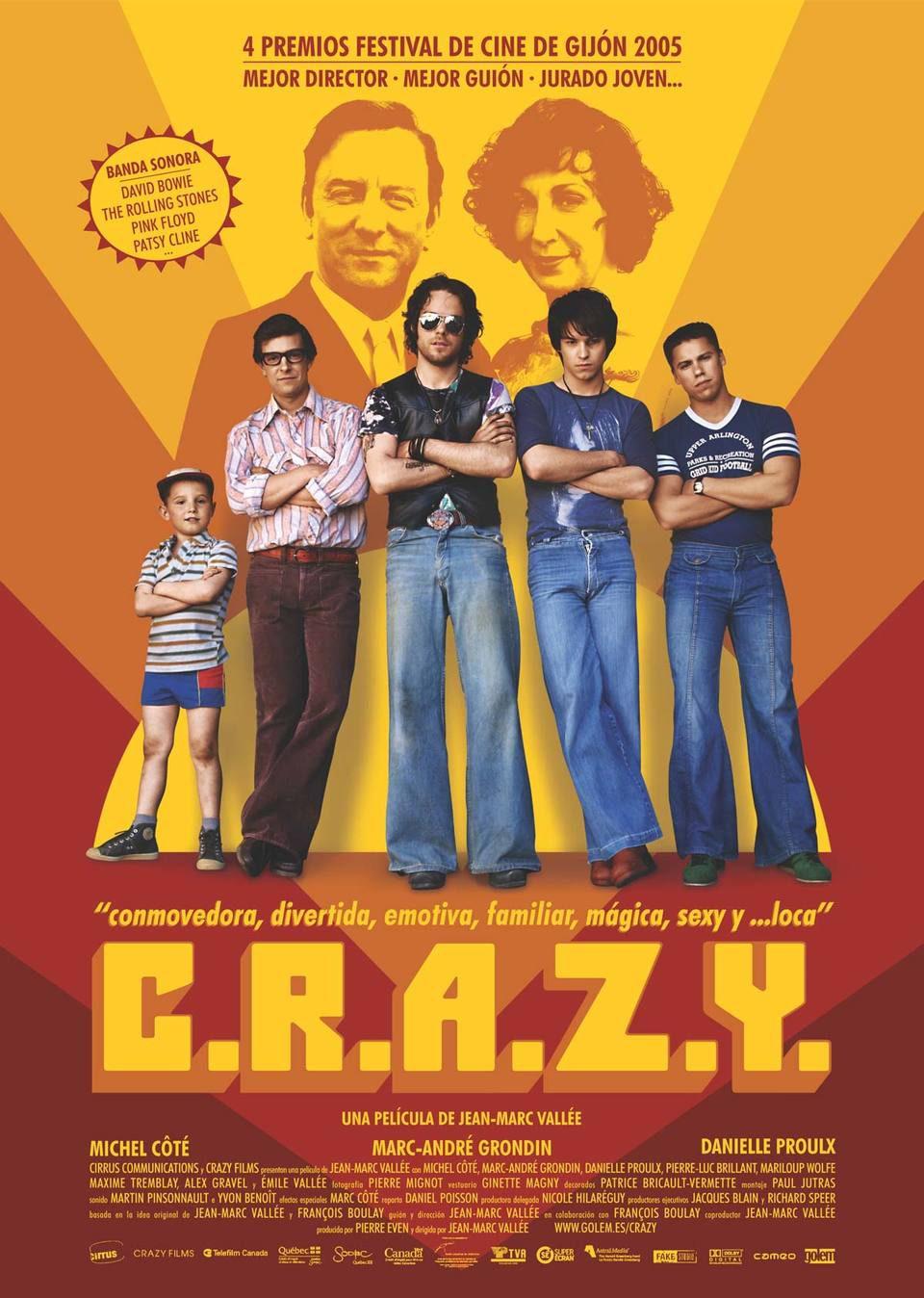 Cartel España de 'C.R.A.Z.Y.'