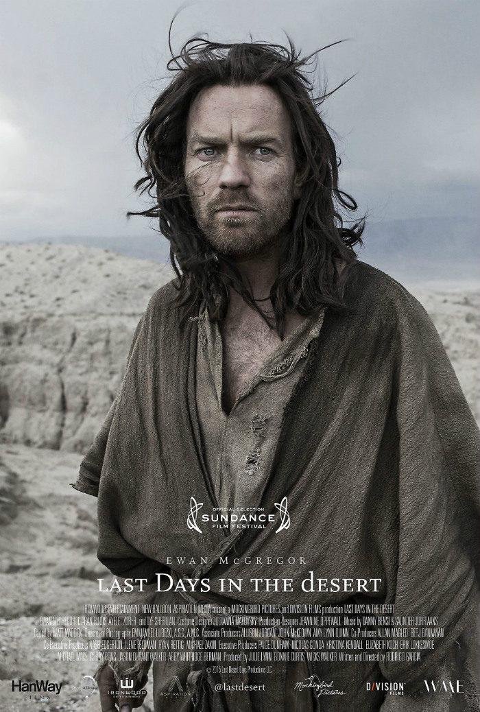 Cartel Poster internacional de 'Last Days in the Desert' de 'Últimos días en el desierto'