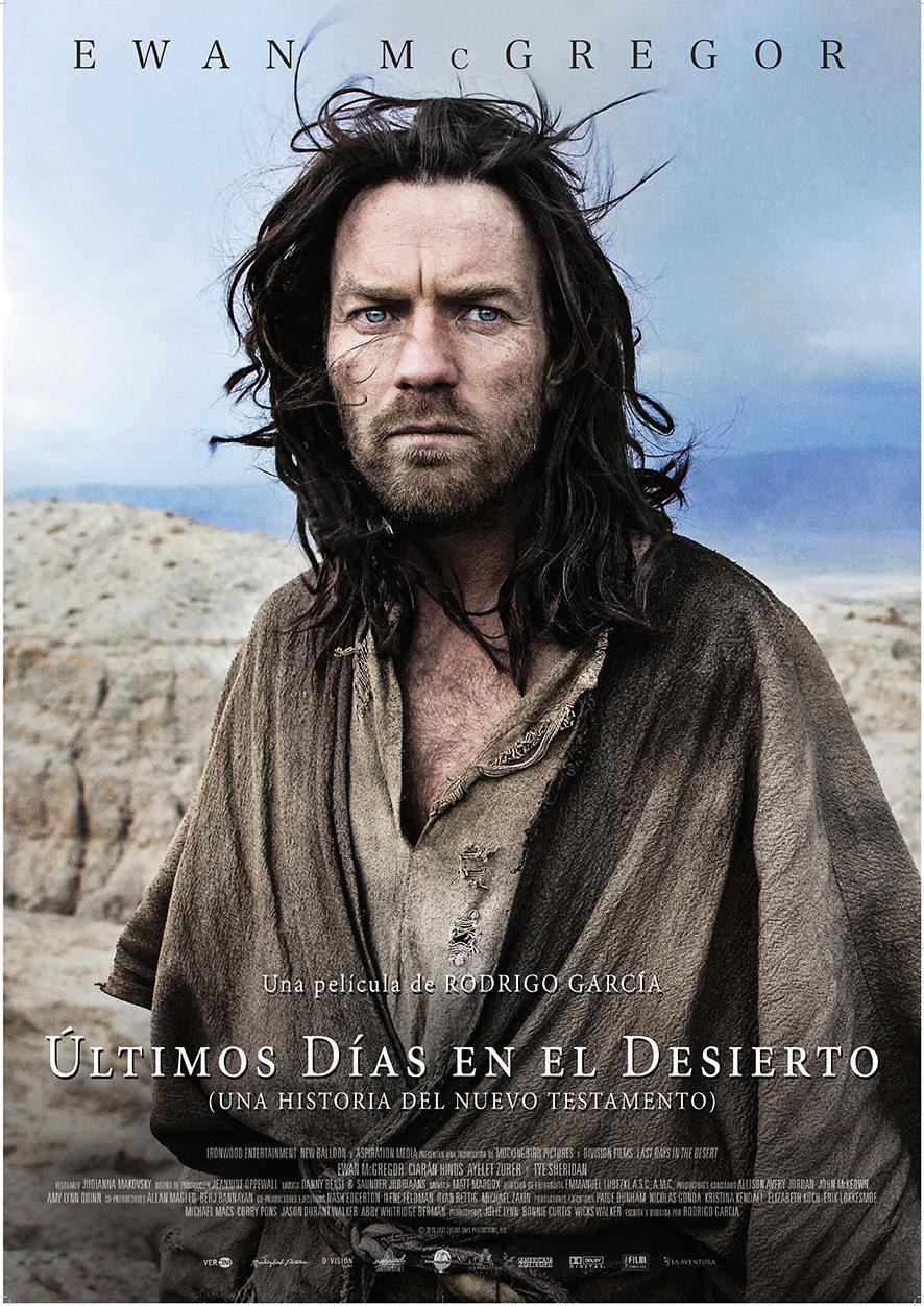 Cartel España de 'Últimos días en el desierto'
