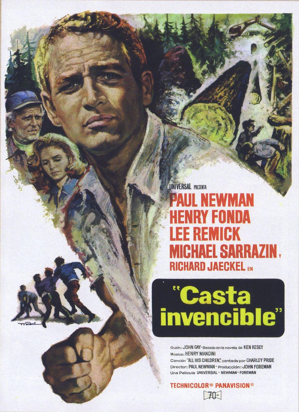 Cartel España de 'Casta invencible'