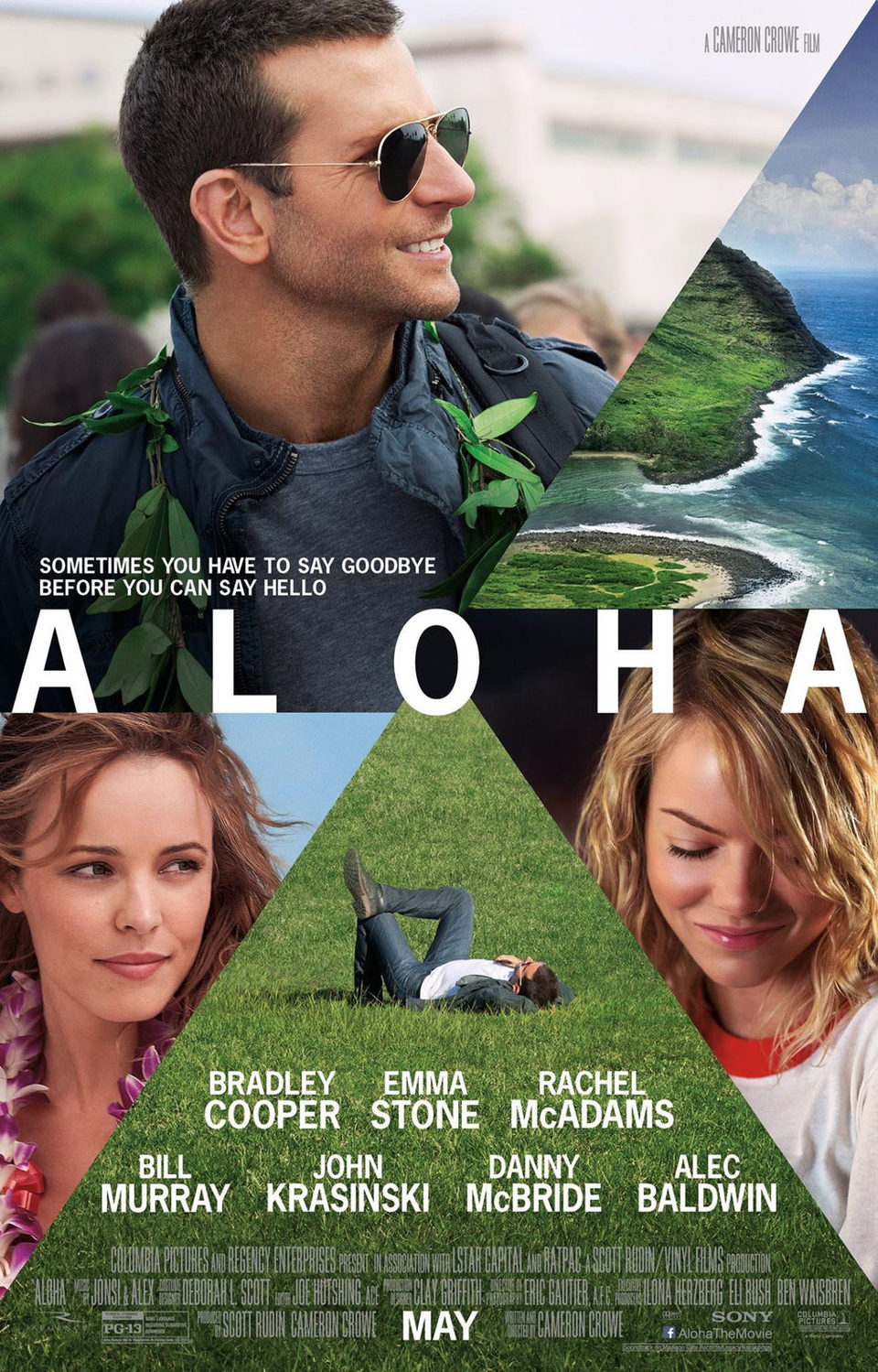 Cartel Estados Unidos de 'Aloha'