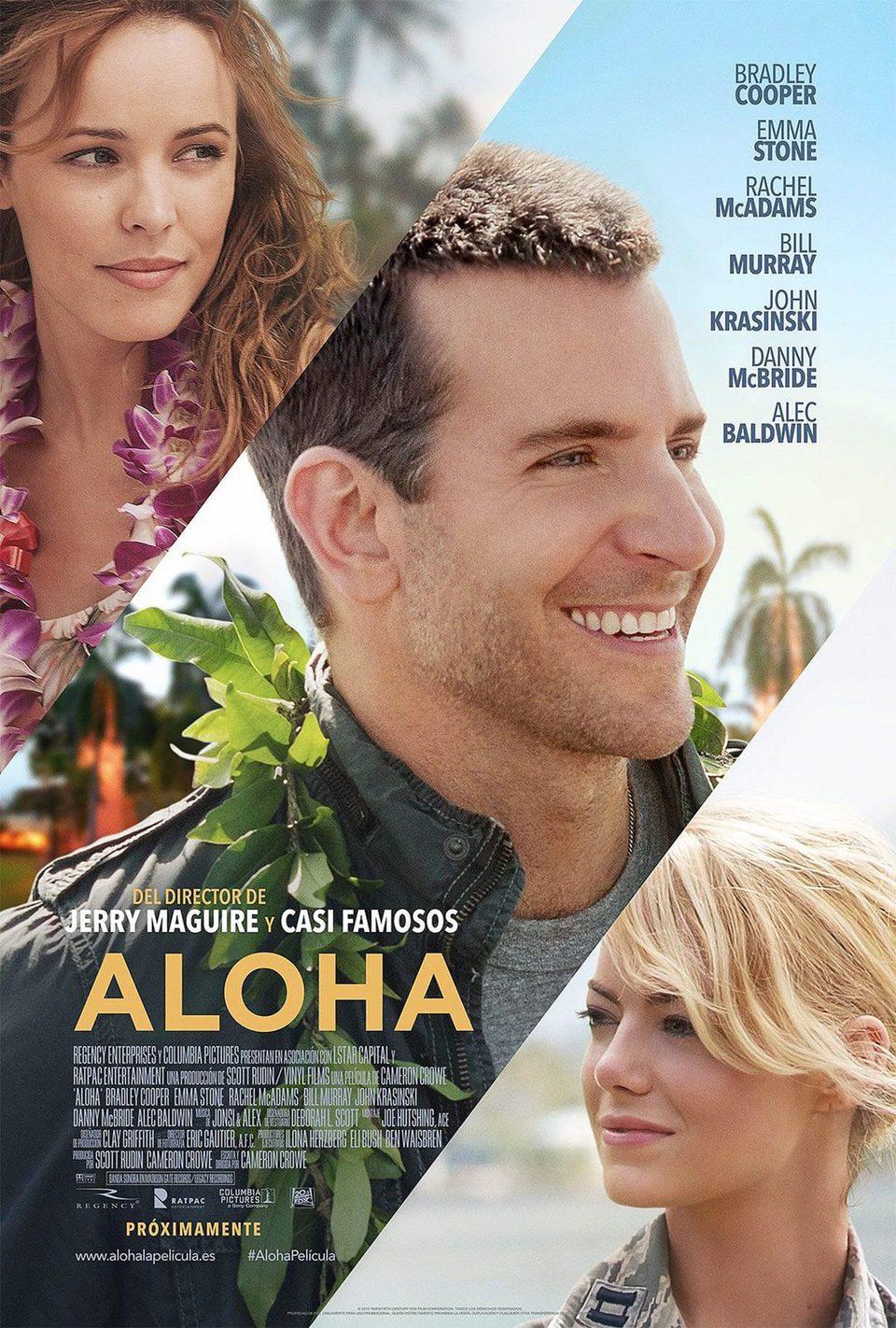 Cartel Aloha de 'Aloha'