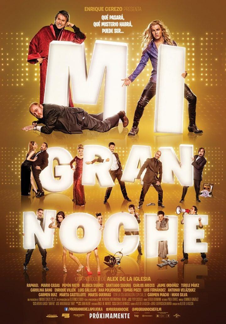 Cartel España de 'Mi gran noche'
