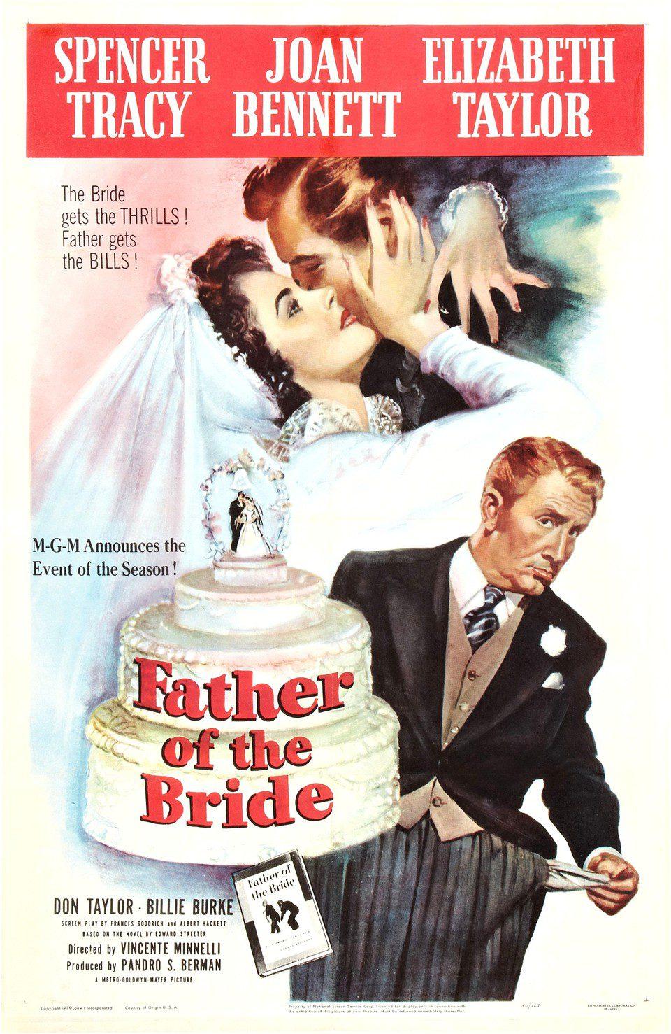Cartel Estados Unidos de 'El padre de la novia'