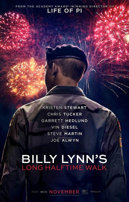 Cartel EE.UU de 'Billy Lynn'