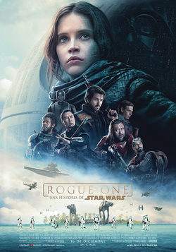 Cartel de Rogue One: Una historia de Star Wars