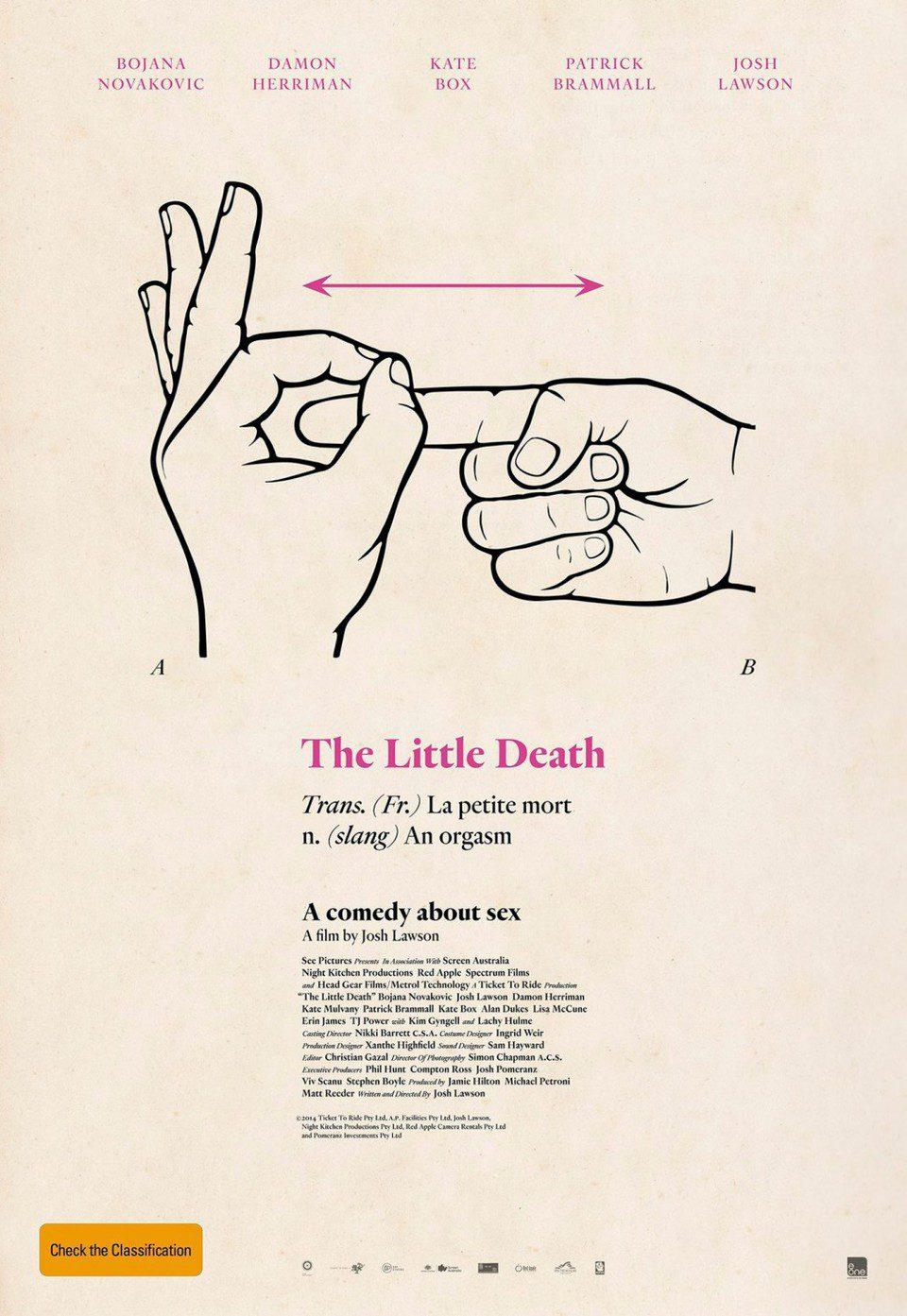 Cartel Estados Unidos de 'The Little Death'