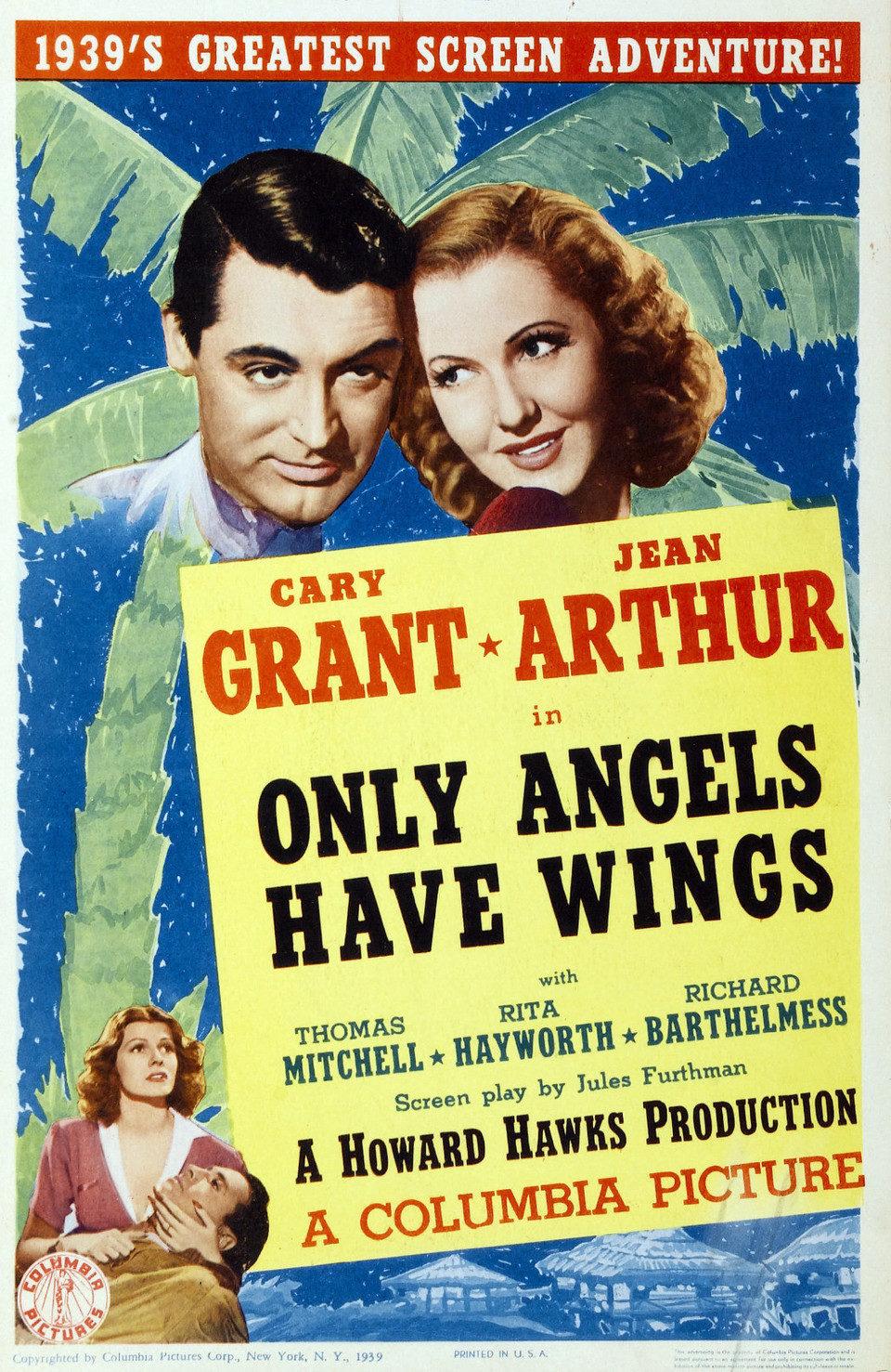 Cartel Estados Unidos de 'Sólo los ángeles tienen alas'