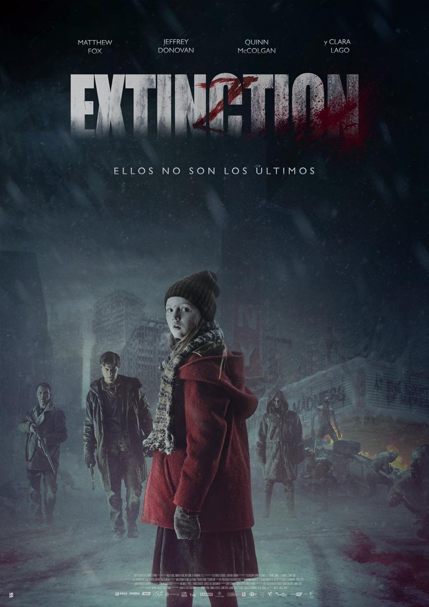Cartel España de 'Extinction'