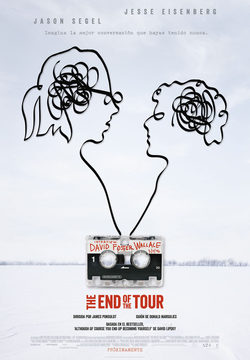 Cartel de The End of the Tour