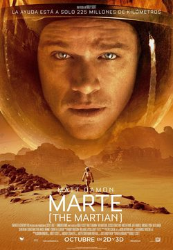 Cartel de Marte (The Martian)
