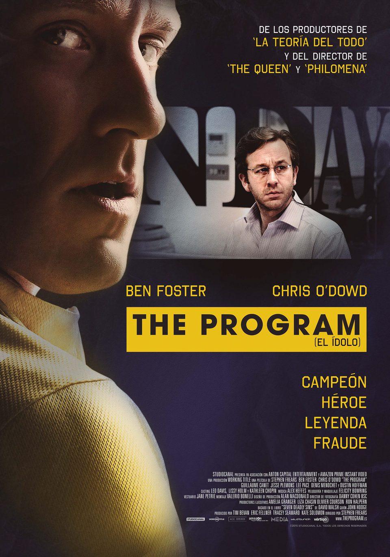 Cartel España de 'The Program (El ídolo)'