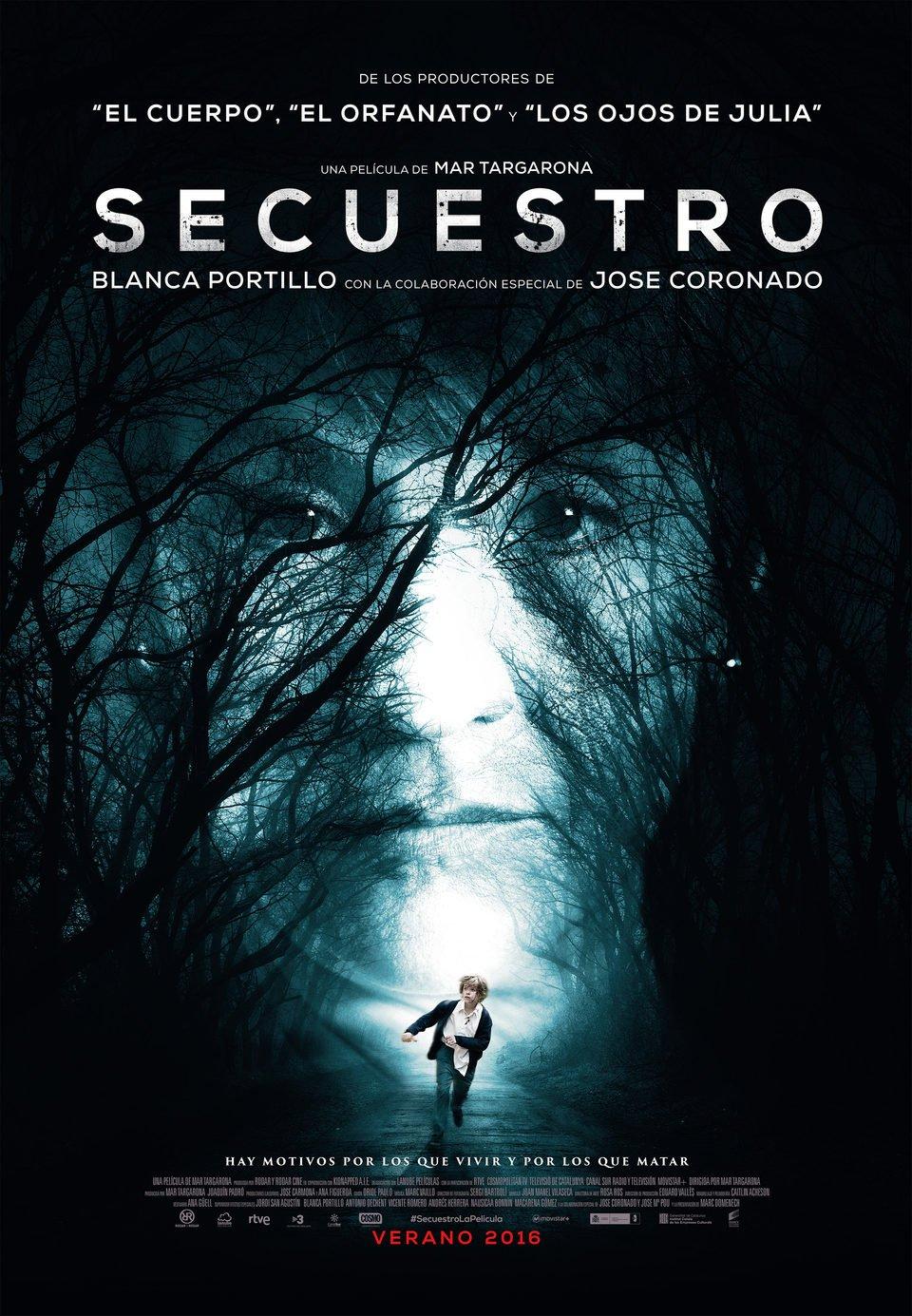 Cartel España Oficial de 'Secuestro'