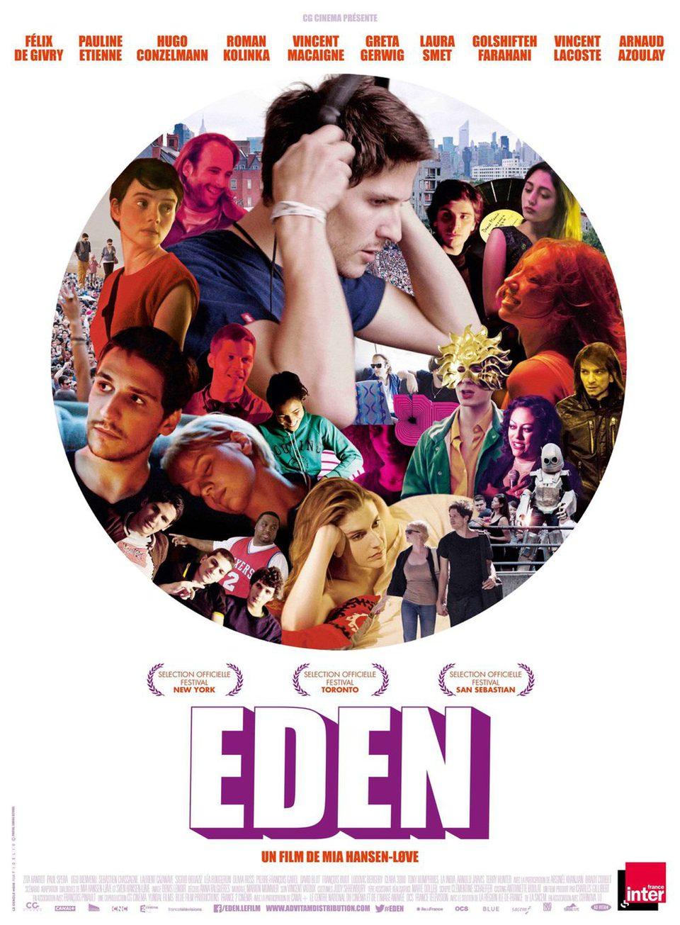 Cartel Francia de 'Eden'