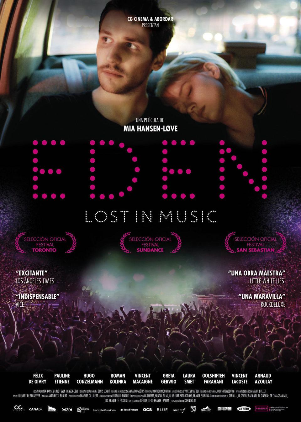 Cartel España de 'Eden'