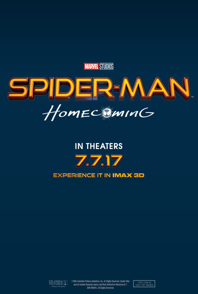 Cartel Estados Unidos de 'Spider-Man: Homecoming'