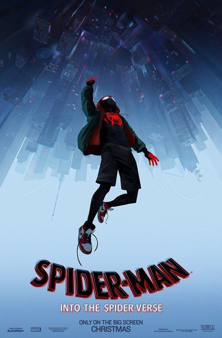 Cartel Póster inglés de 'Spider-Man: Un nuevo universo'