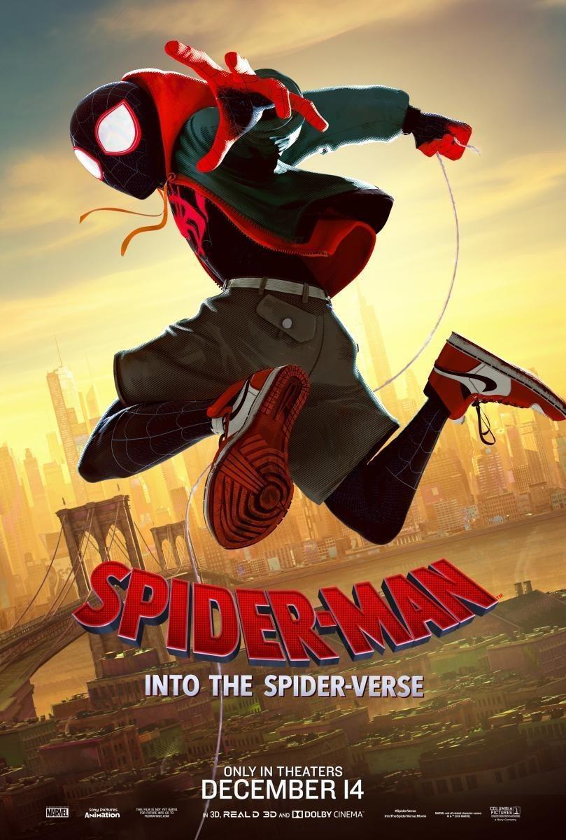 Cartel Póster Miles Morales de 'Spider-Man: Un nuevo universo'