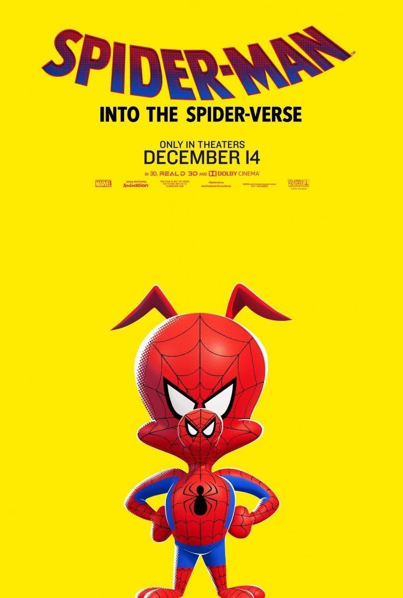 Cartel Póster Peter Porker de 'Spider-Man: Un nuevo universo'