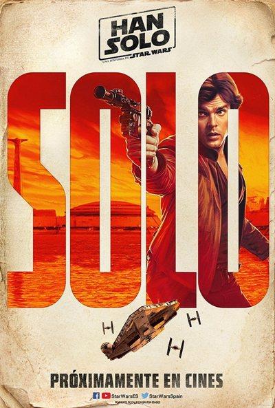 Cartel Han Solo de 'Han Solo: Una historia de Star Wars'