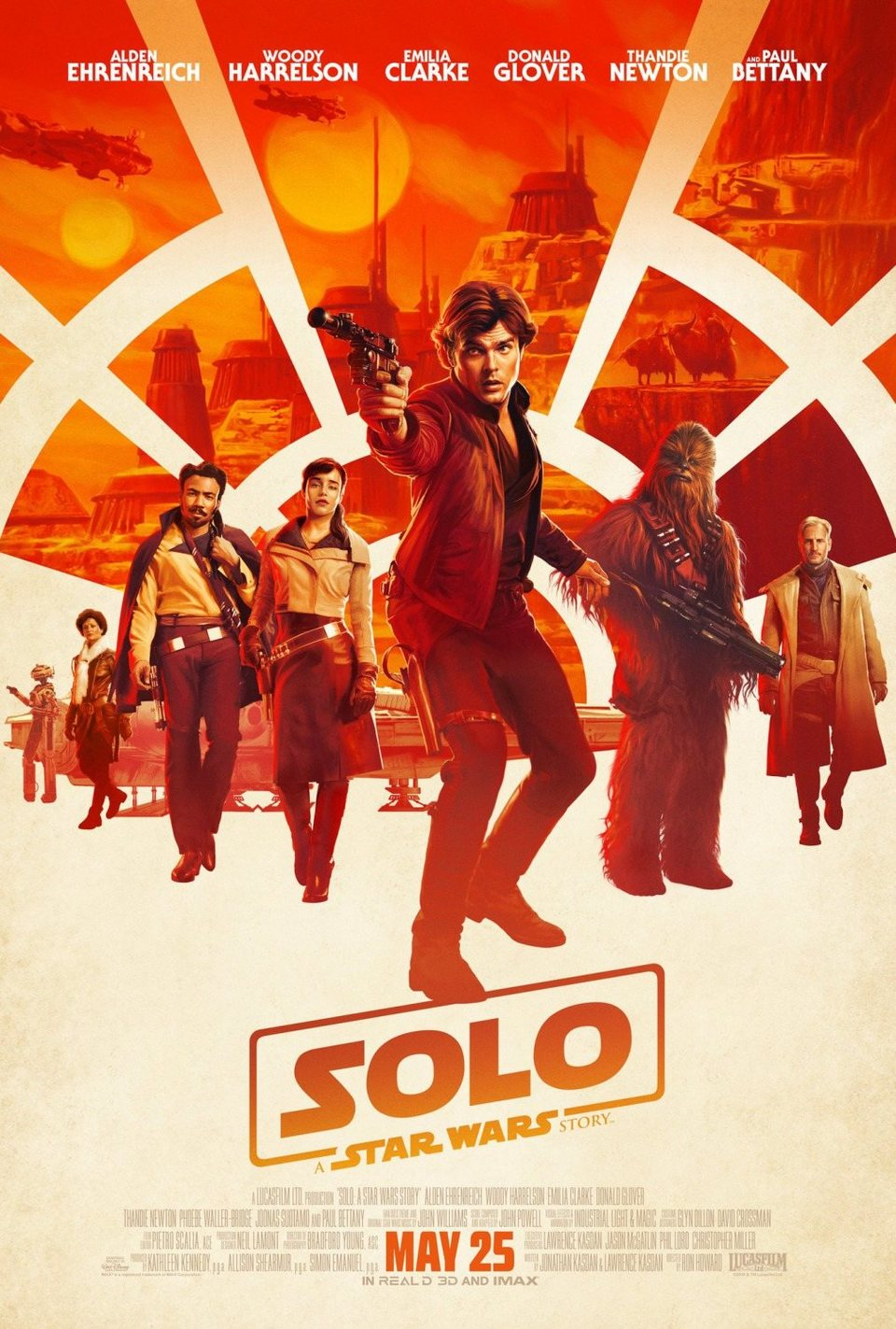 Cartel Nuevo Póster de 'Han Solo: Una historia de Star Wars'