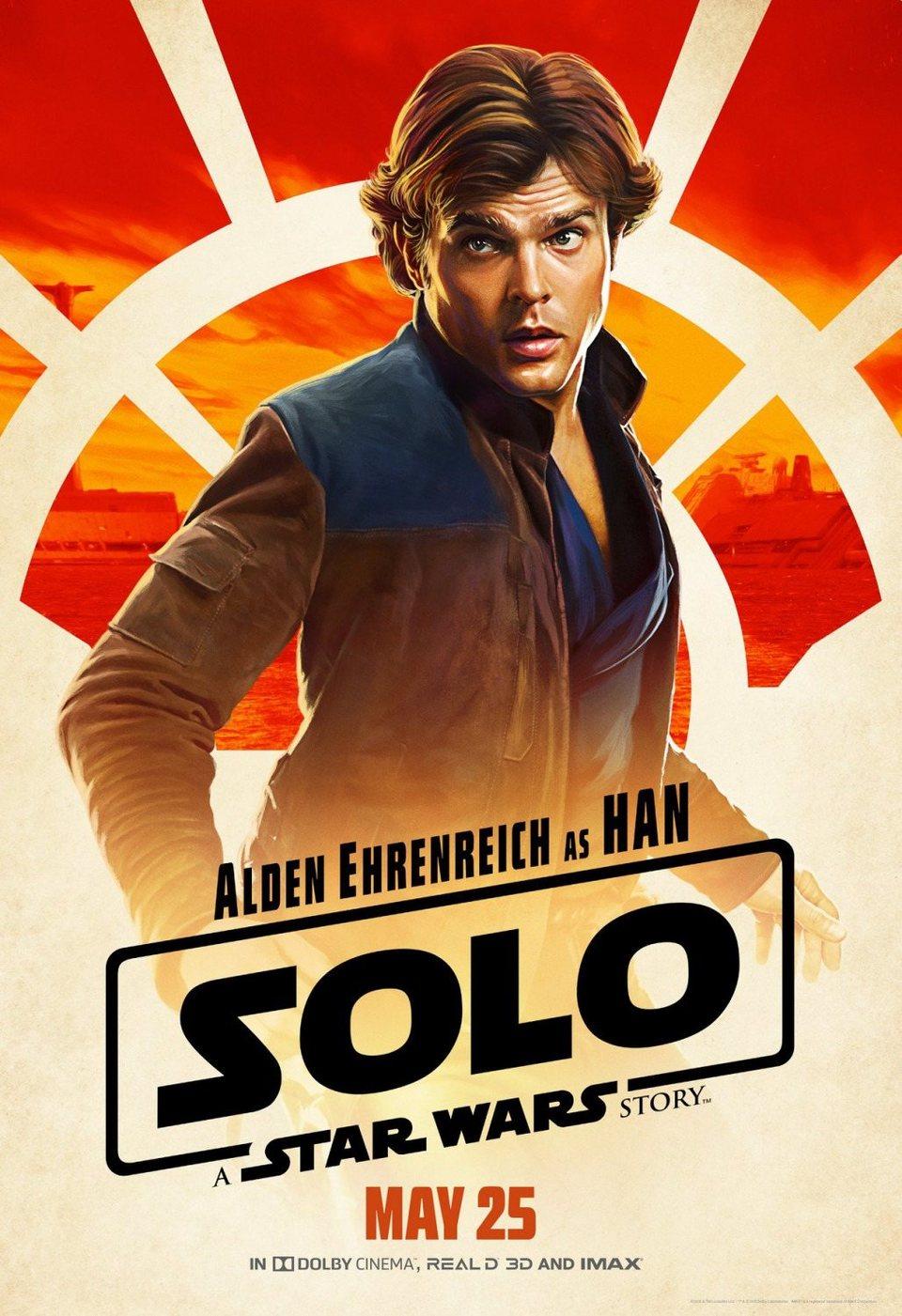 Cartel Han Solo #2 de 'Han Solo: Una historia de Star Wars'