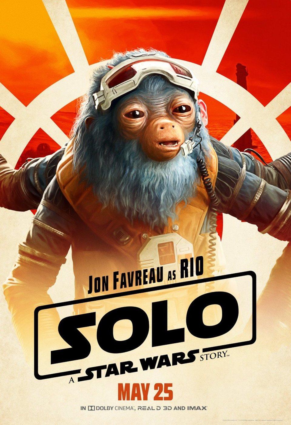 Cartel Rio de 'Han Solo: Una historia de Star Wars'