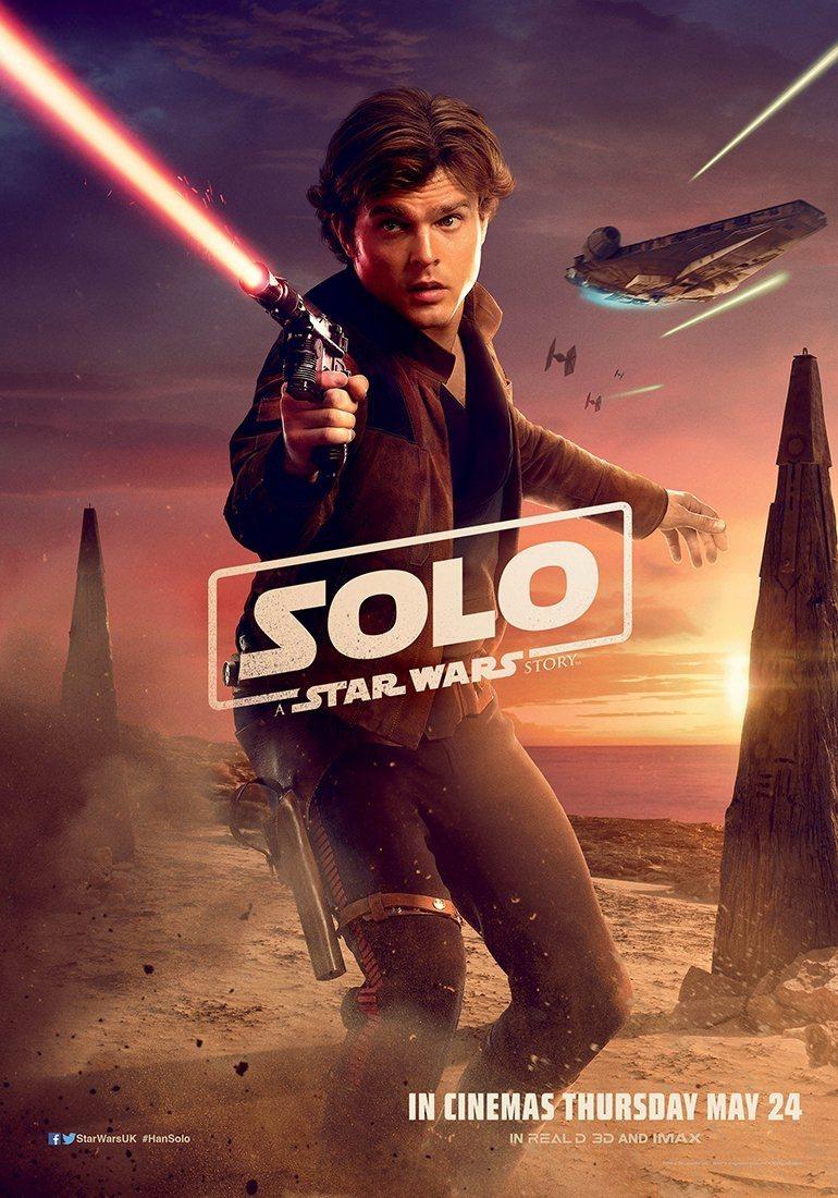 Cartel Han Solo #3 de 'Han Solo: Una historia de Star Wars'