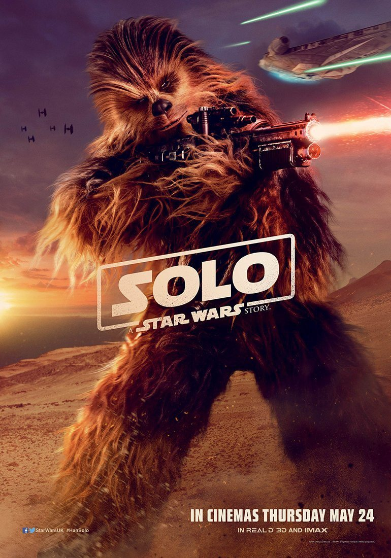 Cartel Chewbacca #3 de 'Han Solo: Una historia de Star Wars'