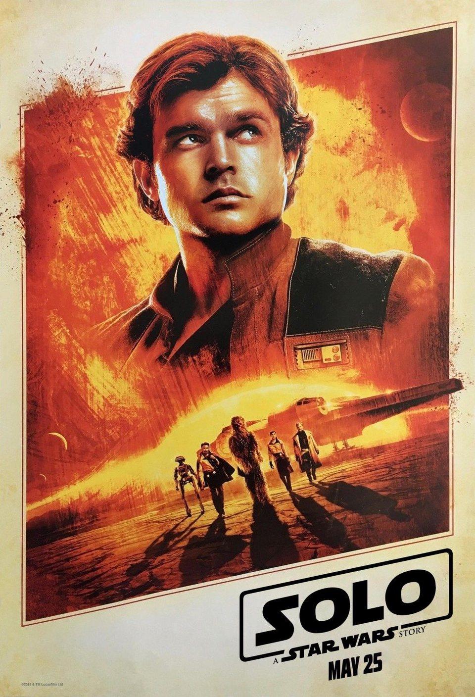 Cartel Póster #2 de 'Han Solo: Una historia de Star Wars'