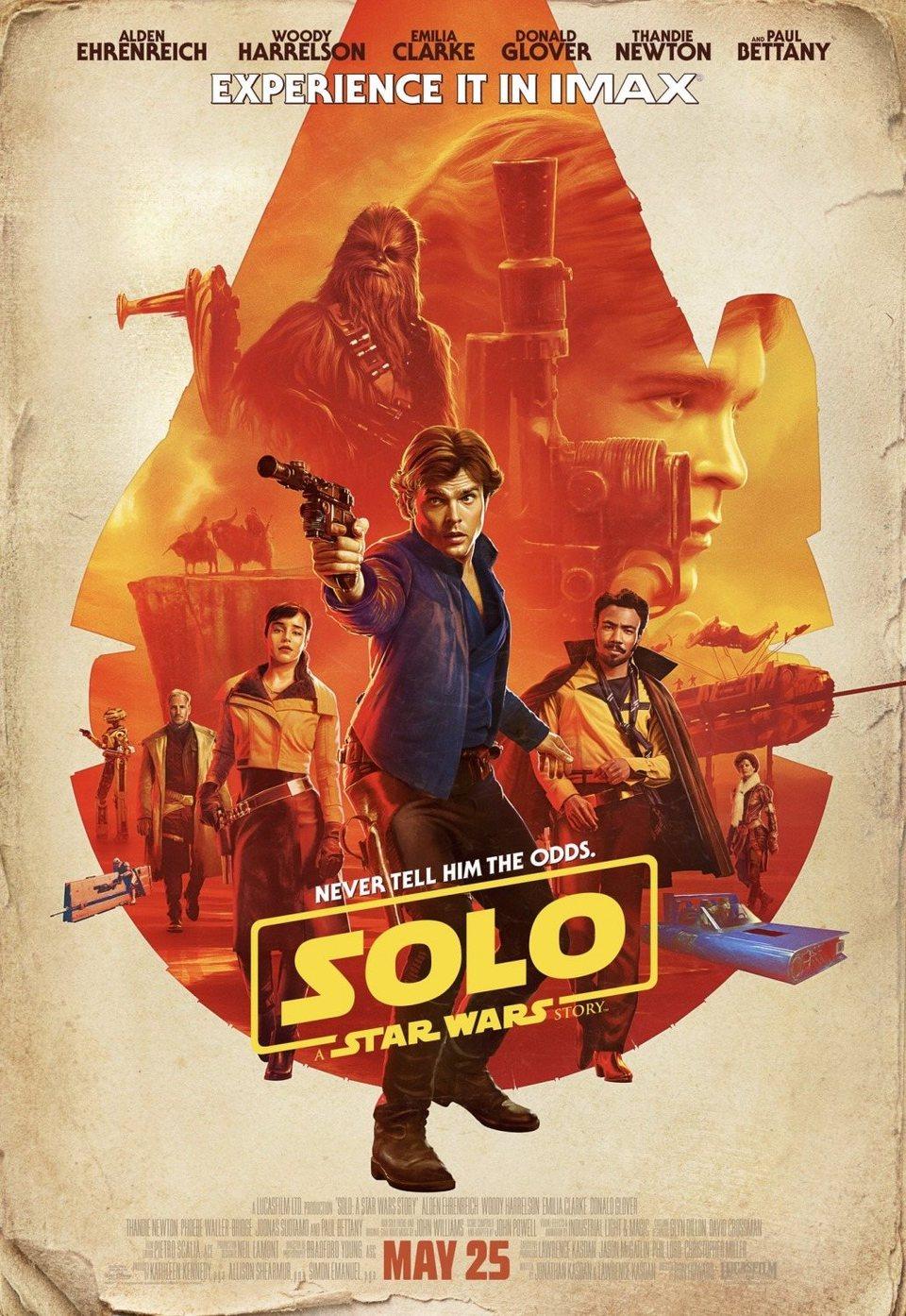 Cartel Póster #3 de 'Han Solo: Una historia de Star Wars'