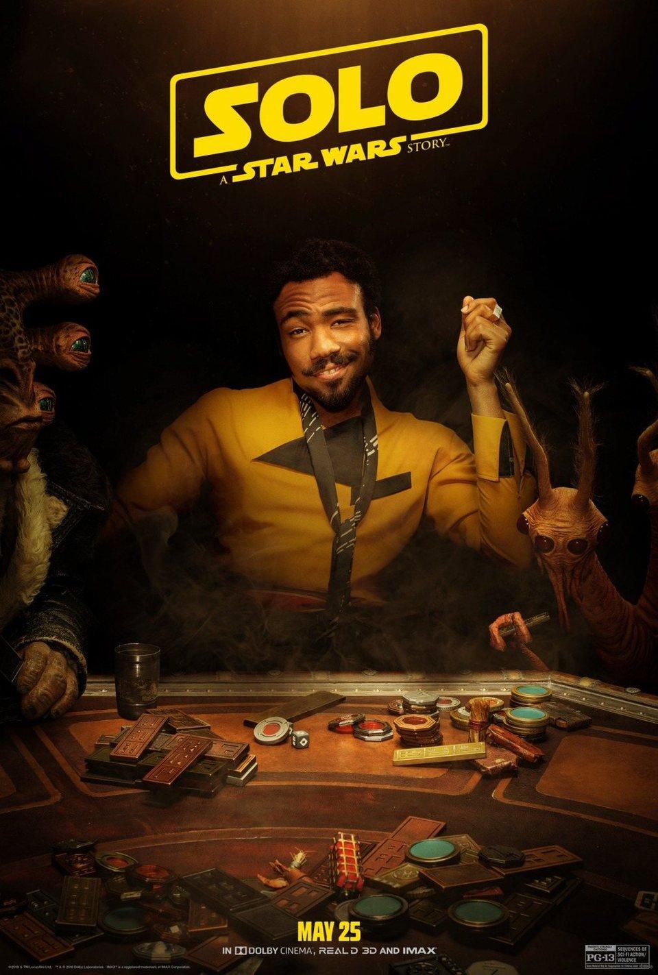 Cartel Lando #4 de 'Han Solo: Una historia de Star Wars'