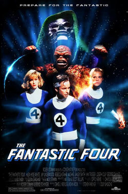 Cartel de The Fantastic Four