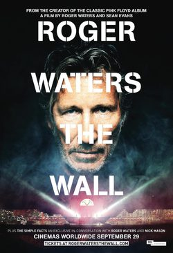 Cartel de Roger Waters The Wall