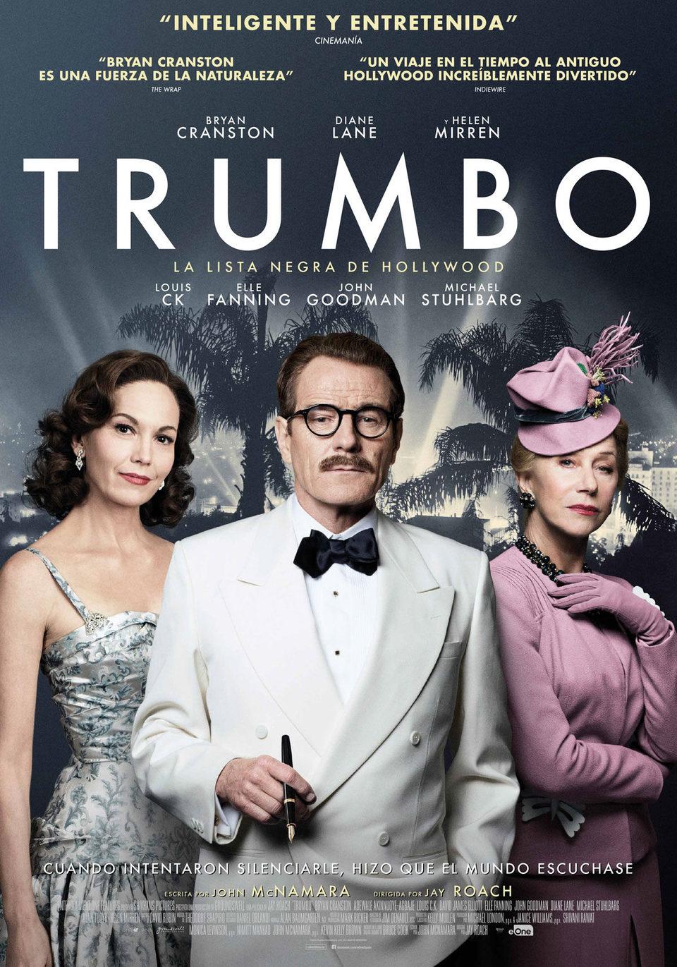 Cartel España 2 de 'Trumbo. La lista negra de Hollywood'