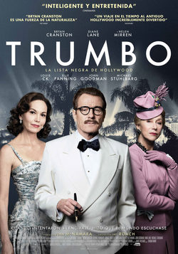 Cartel de Trumbo. La lista negra de Hollywood