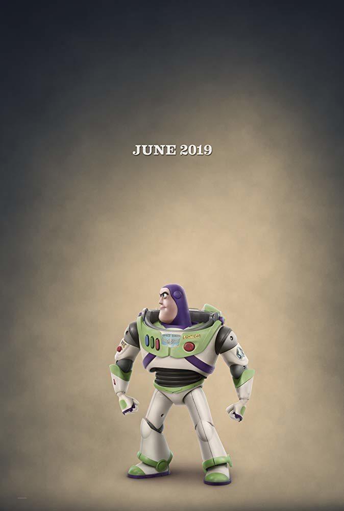 Cartel Teaser Buzz Lightyear de 'Toy Story 4'