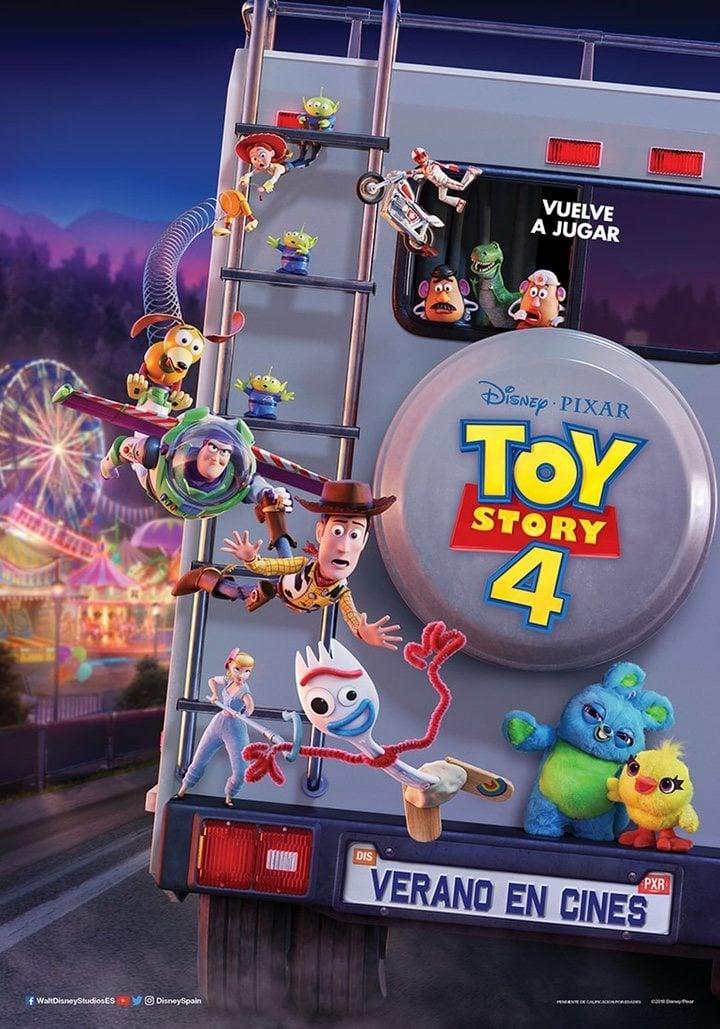 Cartel España de 'Toy Story 4'