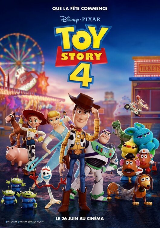 Cartel Francia #1 de 'Toy Story 4'