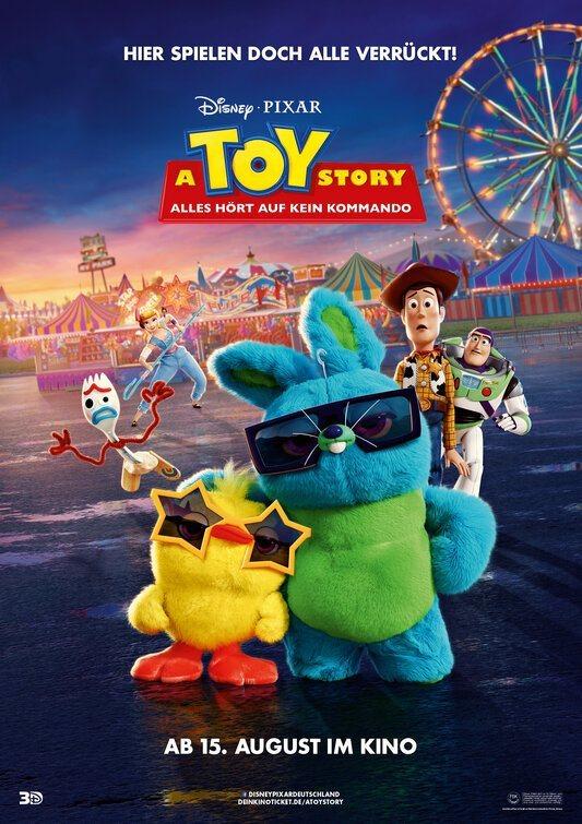 Cartel Alemania de 'Toy Story 4'