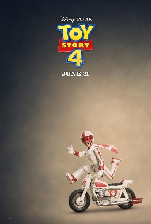 Cartel Duke Caboom de 'Toy Story 4'
