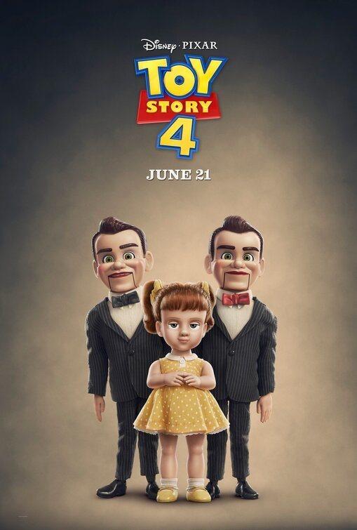 Cartel Gabby Gabby y sus secuaces de 'Toy Story 4'