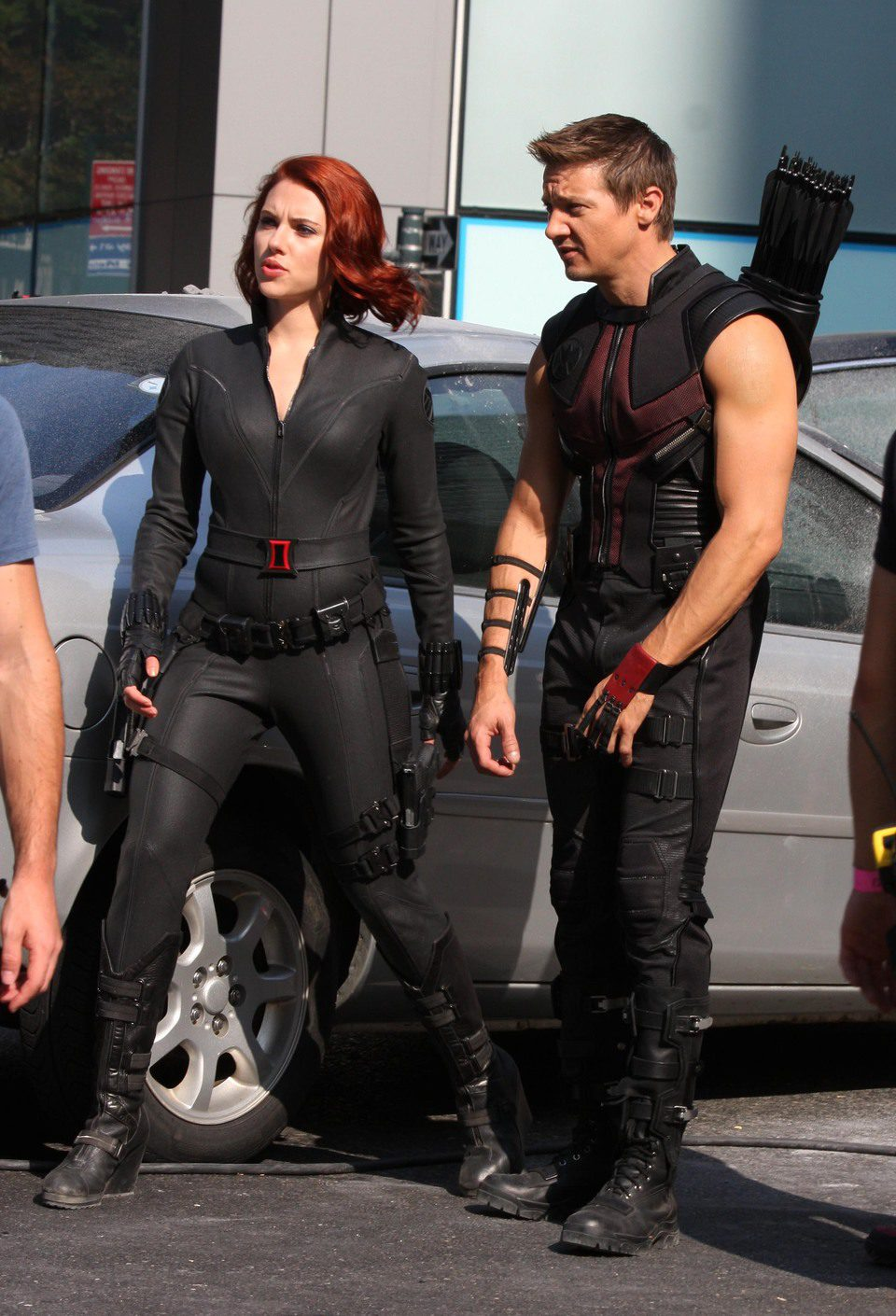 Pin Jeremy Renner Scarlett Johansson The Avengers Photo on ...