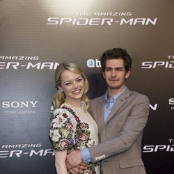 Emma Stone y Andrew Garfield estrenan en Madrid 'The Amazing Spider-Man'