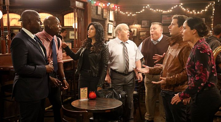 Main cast 'Brooklyn Nine-Nine'