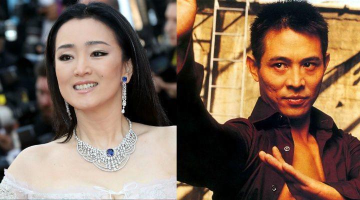 Gong Li and Jet Li