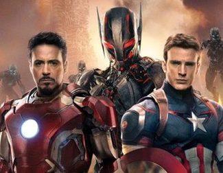 El reparto de 'Vengadores: La era de Ultrón' juega a reconocerse por sus bíceps