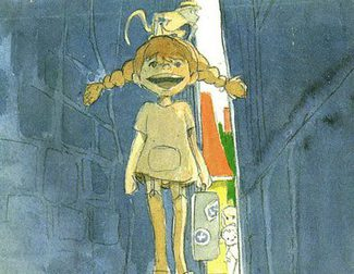 Storyboards del proyecto cancelado de Pippi Calzaslargas de Hayao Miyazaki